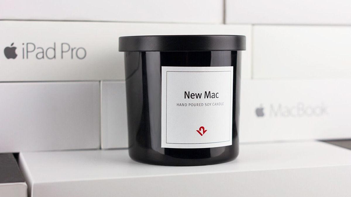噂の「Macのキャンドル」って、一体どんな香りなの?