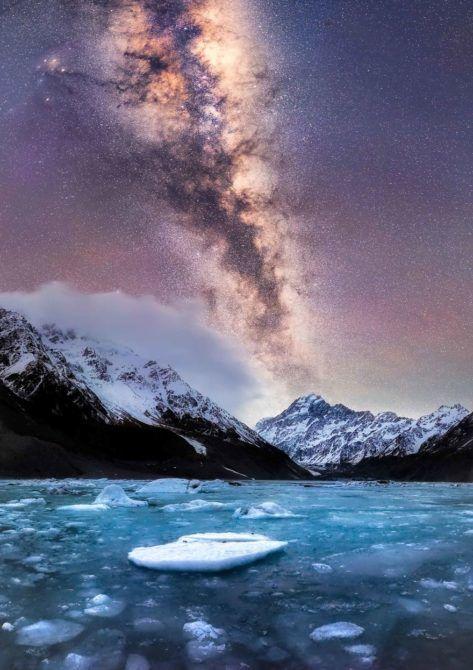 冬のニュージーランドの夜空は、息をのむほど美しかった