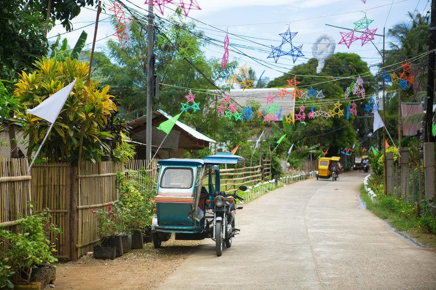 悩みがあっても「ハハハ~!」と笑い飛ばす。そんなフィリピン人が好きになった。