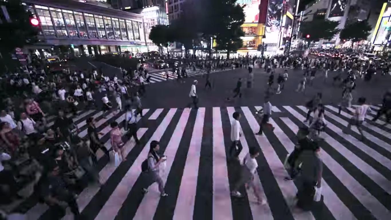 伝統と未来が交わる。そんな「JAPAN」が詰まった3分間