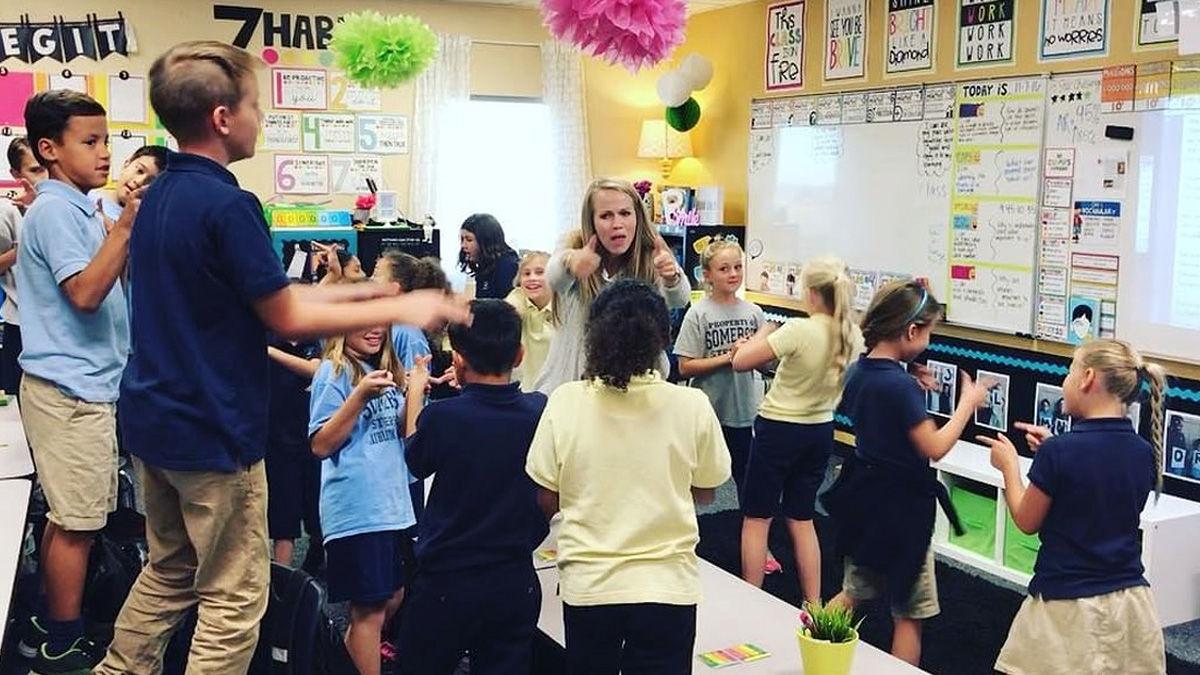 朝礼の「替え歌ラップ」で生徒のモチベーションをアップ!