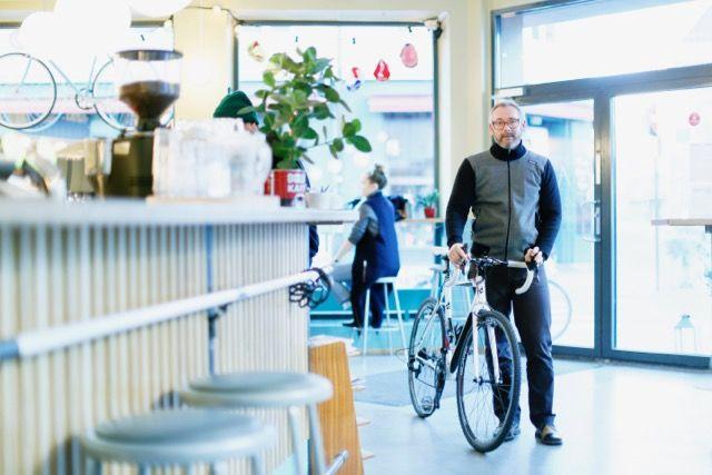 ノルウェーからクルマが消える?エコcity「オスロ」の自転車カフェへ