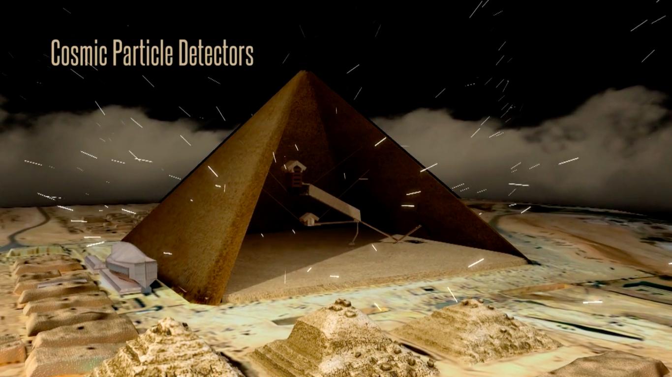 世界の最新技術を用いて、ピラミッドの内部を透視するプロジェクト