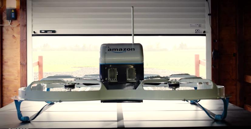 Amazonの「ドローン宅配」を利用してみたら、13分で商品が届いたって?