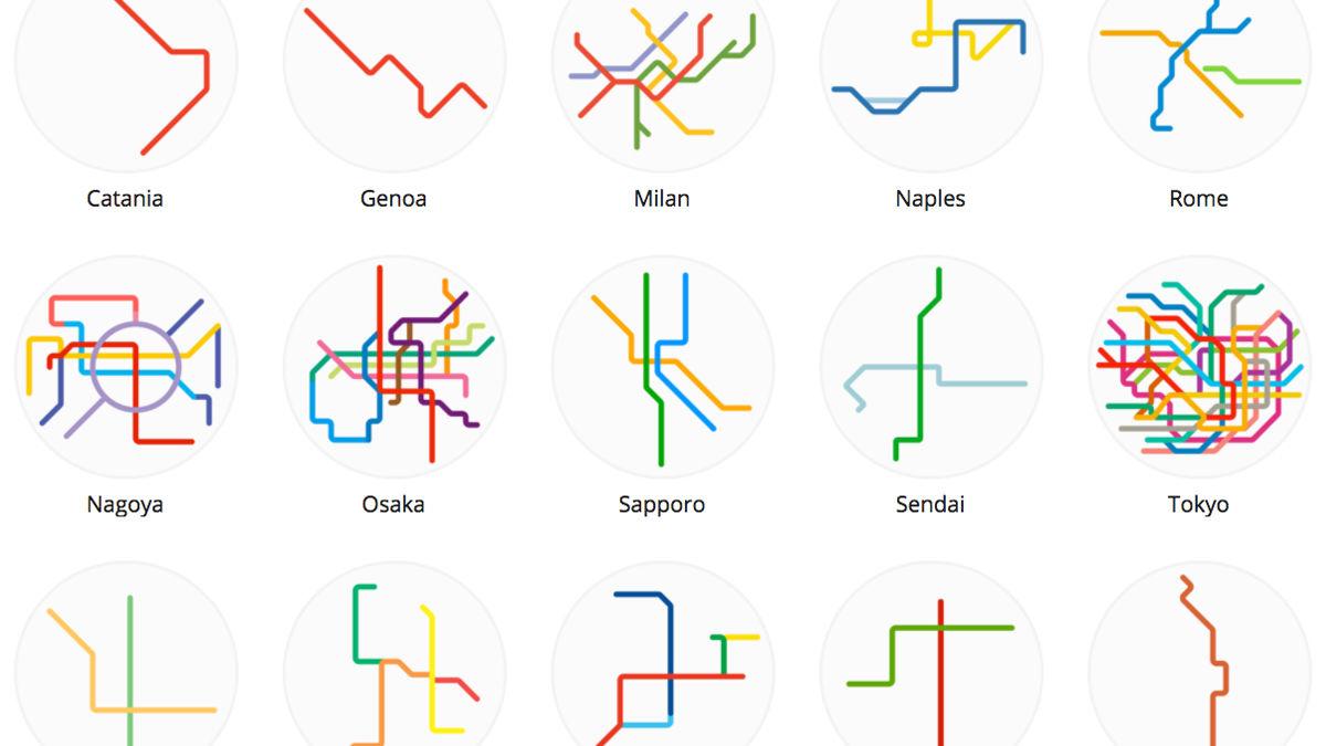 鉄オタのアメリカ人が、「世界の路線図」を集めたら…