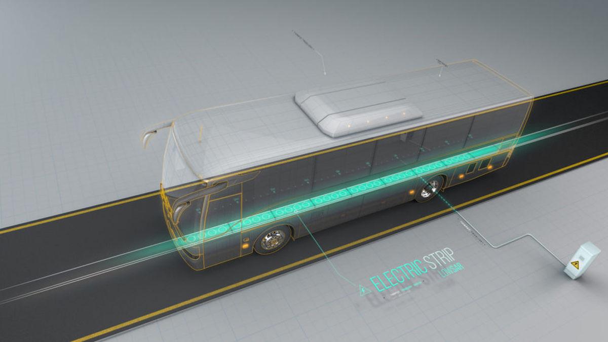 電気自動車が充電なしで走リ続けられる「未来の道路」とは。
