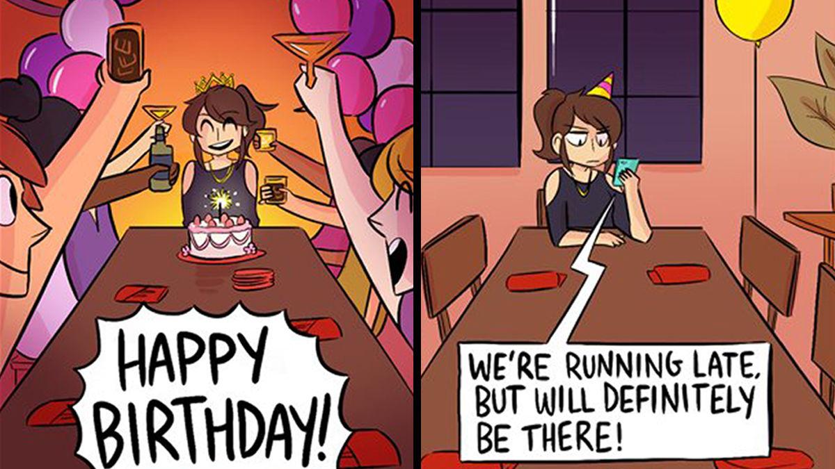 あまりにも違ってツラい!誕生日の「理想と現実」
