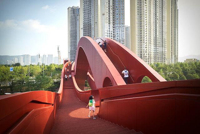 「縁結びの橋」を渡りに中国・長沙へ