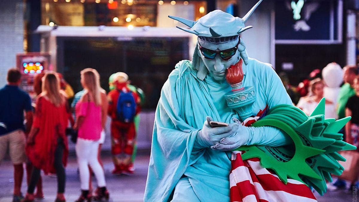 ありのままのニューヨークなのに、なぜかすごく行きたくなる写真。