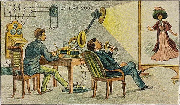 19世紀の人々が描いた「2000年の世界」が斜め上すぎる(笑)