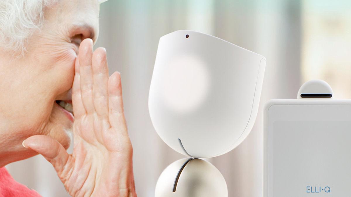 見た目ではなく コミュニケーションで主張する 「介護用ロボット」
