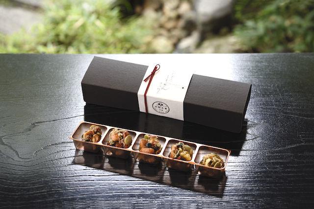 京都の料亭がつくる「ちりめん」のお菓子