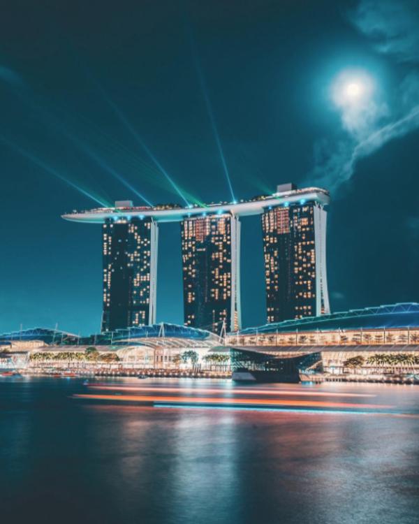 フォトジェニックなり、シンガポール。