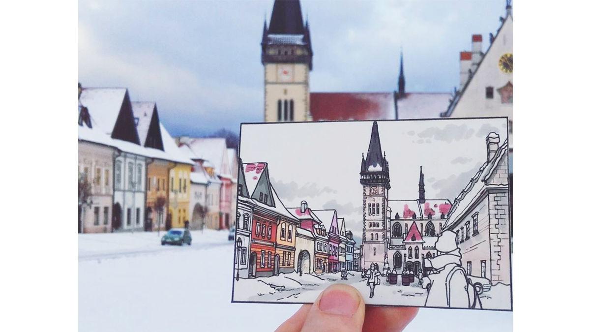 「絵を売りながら旅をしています」。(23歳・イラストレーター)