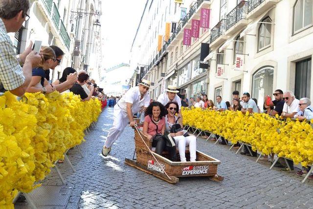 最大時速48km!ポルトガルの街で「そり」に乗ってみたい