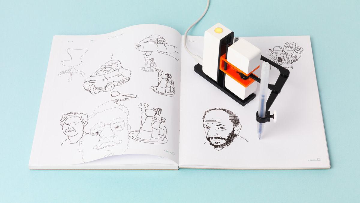 自動で「お絵かき」してくれる、模写ロボットが楽しそう!