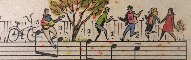 「五線譜」の上で繰り広げられる物語