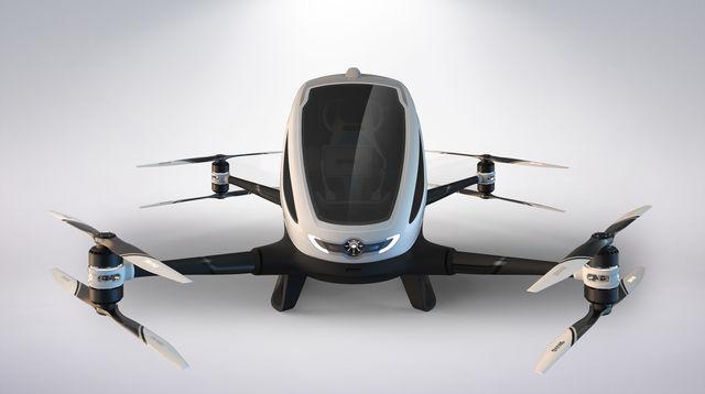 2017年夏にドバイで「空飛ぶドローンタクシー」が運行開始
