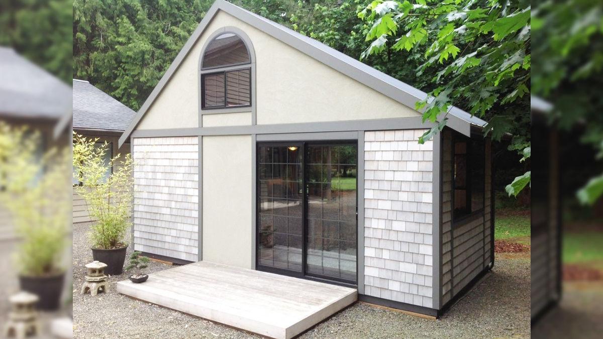 お手本は「日本家屋」。外見からじゃ想像できないほど快適なタイニーハウス