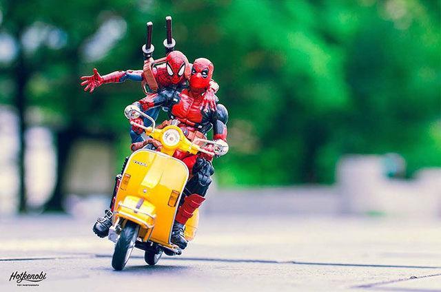 「アメコミのフィギュア」に命を吹き込んだ日本人写真家がAmazing!
