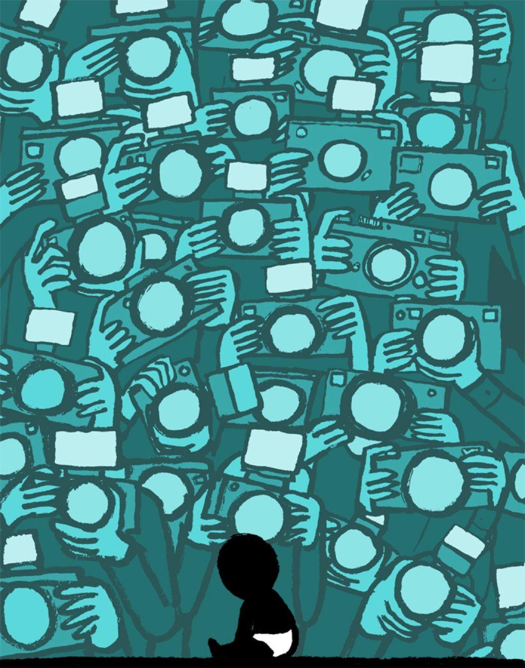 テクノロジーの奴隷のみなさまへ。思わず「ドキッ!」とする風刺画14枚