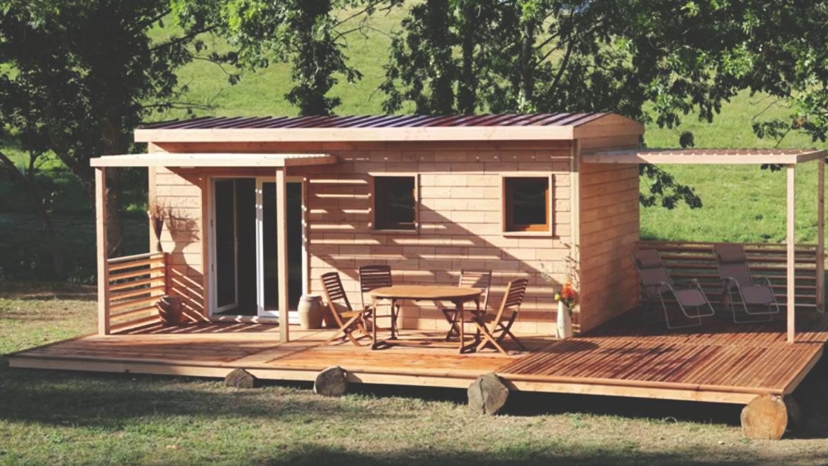 釘やネジを使わずに建てる「プラモデルのような家」
