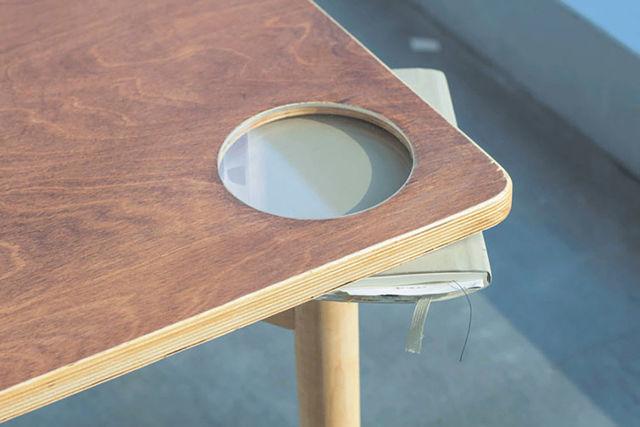あえて「不安定」にしたテーブルには、意外な意味が込められていた。