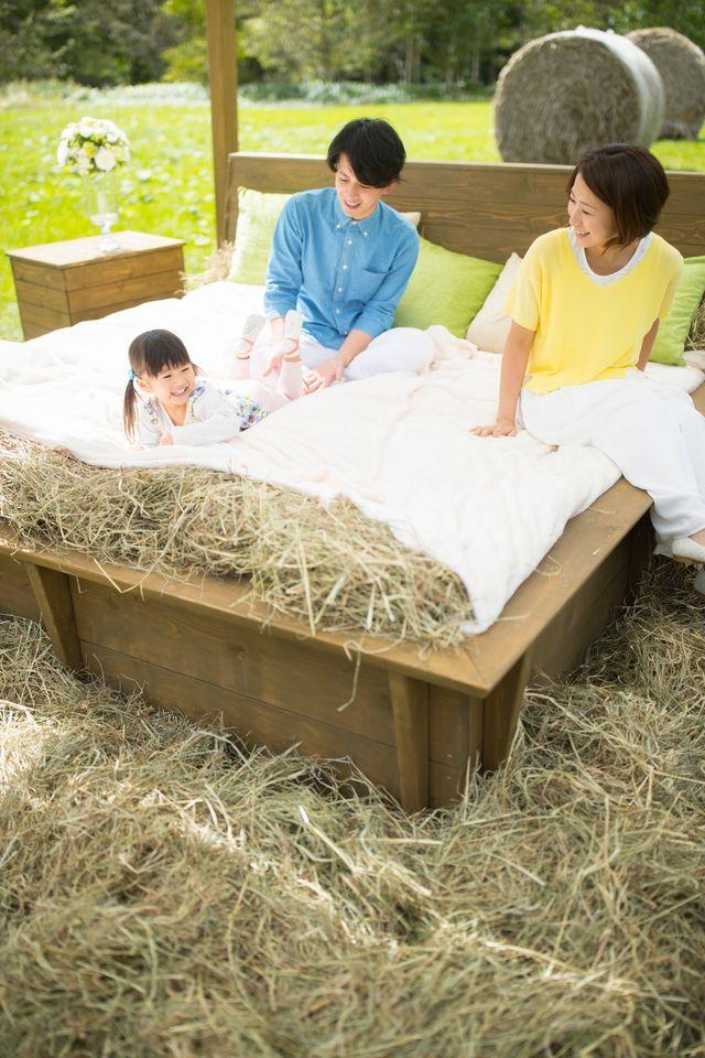 【星野リゾート トマム】早起きしたら「牧草ベッド」で二度寝はいかが?