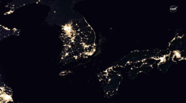 災害対策にも役立つ「夜の世界地図」がすごい(NASA)