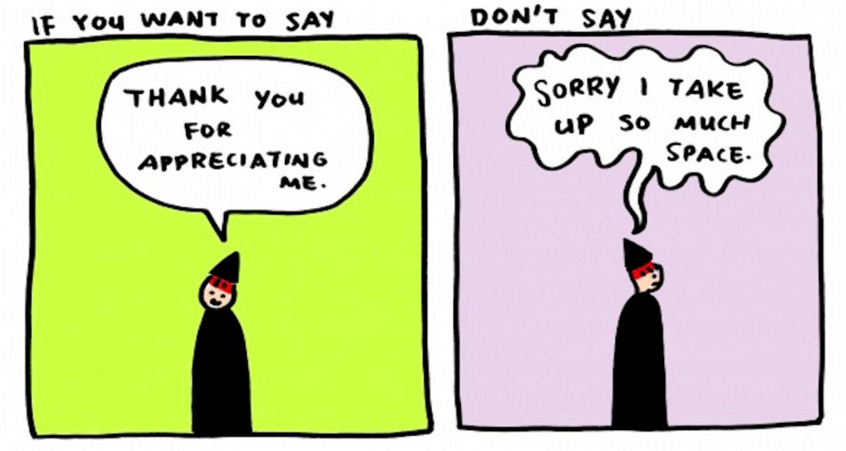 「ごめんなさい」を「ありがとう」に変えると、人生はもっと素敵になる