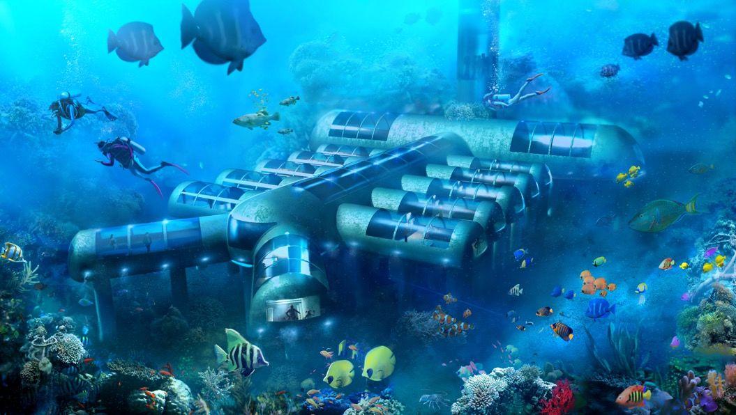 完成は4ヶ月後!?フロリダに「海底ホテル」ができる Tabi Labo