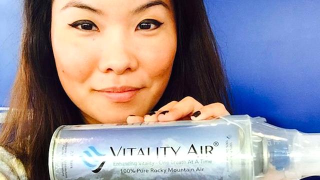 中国で、ロッキー山脈の「キレイな空気」が飛ぶように売れている