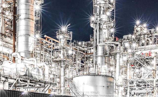 Twitterで話題 「工場夜景」が、ため息の出る美しさ