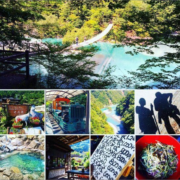 静岡県にある「夢の吊り橋」とエメラルドグリーンの湖を知っていますか?